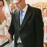 Strak in mijn trouwpak