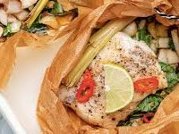 Oosterse vis pakketjes